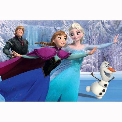 Jumbo Disney Frozen Puzzle and Colour