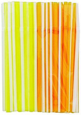 Chef Aid Citrus Stripe Straws