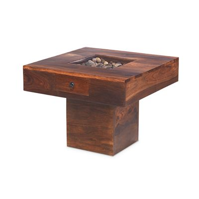 Maharajah Indian Rosewood Pebble Coffee Table (60x60)