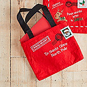 Letter To Santa Christmas Gift Bag - Special Delivery
