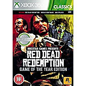 Red Dead Redemption Game of the Year Xbox 360