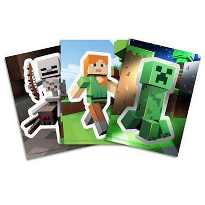 Minecraft Sticker Card Collection