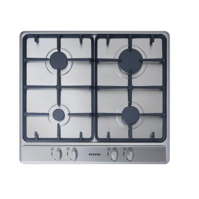 Stoves SGH600C 60cm Gas Hob in Stainless Steel