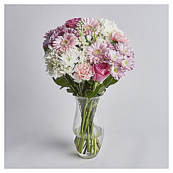 Pink Rose & Germini Bouquet