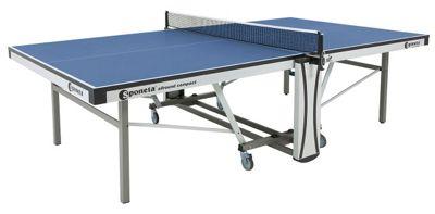 Auto Compact ITTF Table Tennis Table - Blue - Sponeta