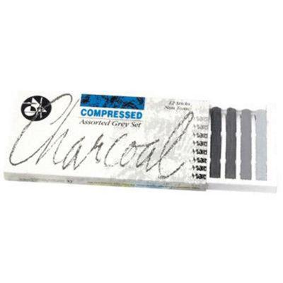 Jakar Charcoal Set Grey 12 Pk