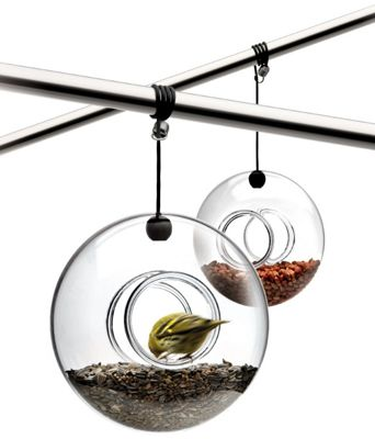Eva Solo Glass Hanging Bird Feeder