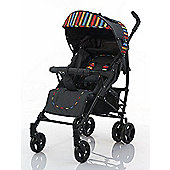 ABC Design Stroller Pushchair Childrens Pushchair New Black Amigo Multicoloured