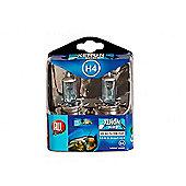 Xenon Mega Bright H4 Headlight Bulbs - Blue