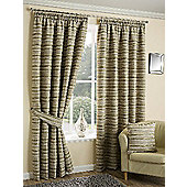 Chica Lime - Pencil Pleat Curtains - Lime