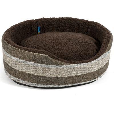 Ancol Tawny Stripe Oval Bed - 50cm