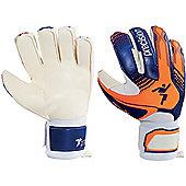 Precision Gk Fusion-X Trainer Junior Goalkeeper Gloves - Blue