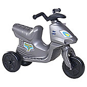 Tesco Scooter Ride On - Silver