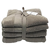 Kinglsey Hygro 4 Piece Towel Bale Taupe