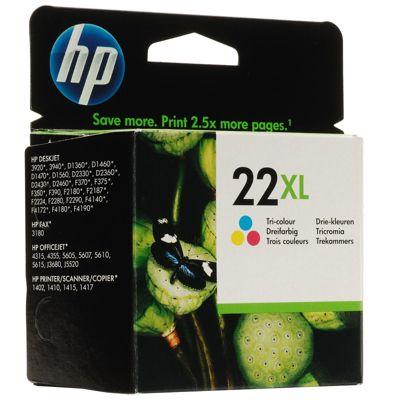 HP 22XL High Yield Tri-color Original Printer Ink Cartridge