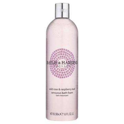 B&H Wild Rose & R/Berry Leaf Bath Foam500Ml