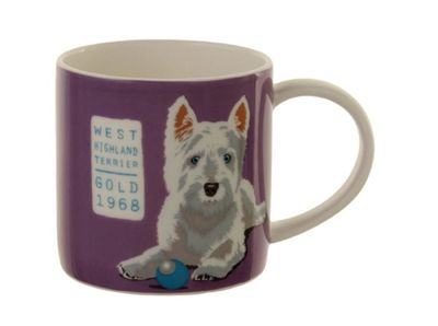 Ulster Weavers Angus the Westie Dog Porcelain Straight Sided Mug 8ANG65