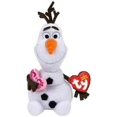 83f000f207 Buy Ty Disney Frozen Olaf - Snowman with Heart from our Soft Toys ...