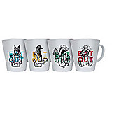EAT OUT Melamine Mug (Pack of 4)
