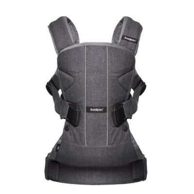 BabyBjorn Baby Carrier One (Denim Grey/Dark Grey)