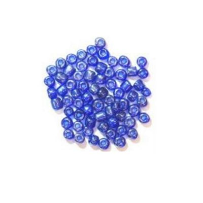 Impex Glass E Beads Royal Blue 8 Grams