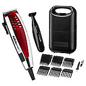 Babyliss 7448TU Power Glide Mens Hair Clippers - Red/Silver