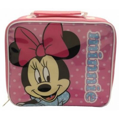Disney Minnie Mouse Polka Dot Rectangle Lunch Bag