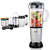 8 in 1 Silver Multifunctional Blender Chopper Food Processor Smoothie Maker Mixer