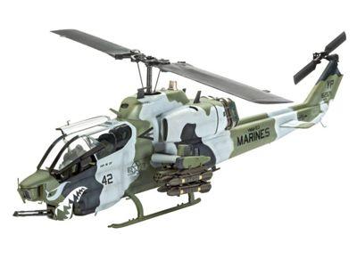 Bell AH-1W SuperCobra 1:48 Scale Model Kit - Hobbies