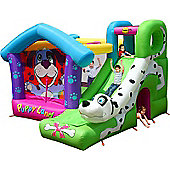 Puppy Land Bouncy Castle with Slide