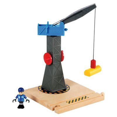 Brio Tower Crane, wooden toy