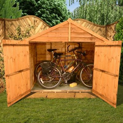 BillyOh 30 3 x 6 Apex Overlap Bike Store Mini Shed