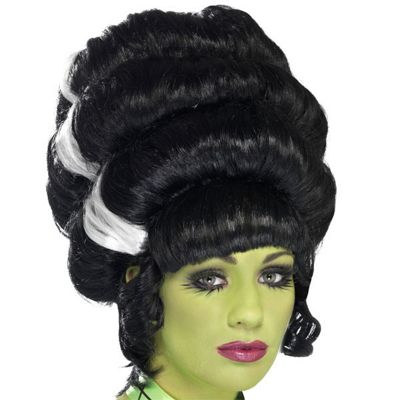 Smiffy's - Pin Up Frankie Wig - Black