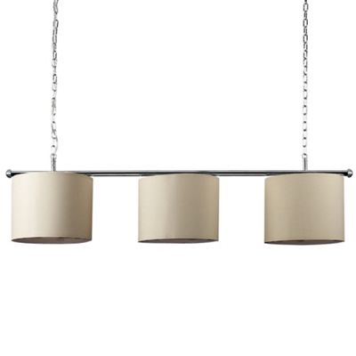 Gulliver 3 Way LED Ceiling Light with Drum Shades - 3000K