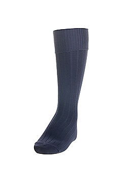 Precision Training Plain Football Socks - Navy