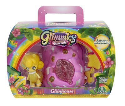Glimmies Rainbow Friends Glimhouse (Yellow Glimmie)