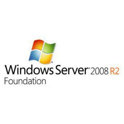 HP Microsoft Windows Server 2008 R2 Foundation Reseller Option Kit English Software