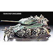 Military Minatures Russian Army Assault Infantry - 1:35 Scale Military - Tamiya