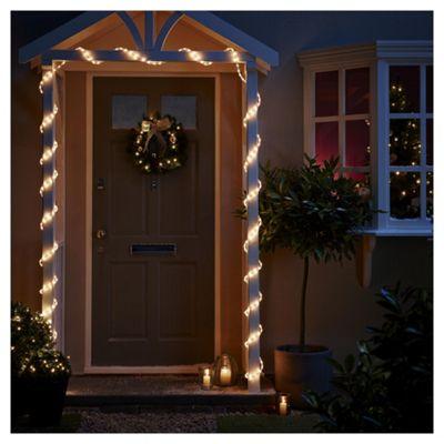6m LED Christmas Rope Light, White