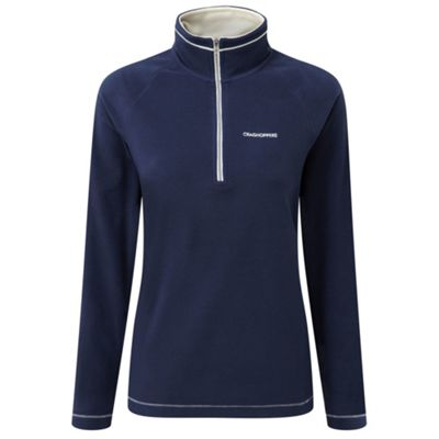 Craghoppers Ladies Seline Half Zip Fleece Night Blue 20