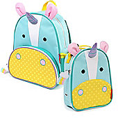 Skip Hop Children's Zoo Pack Backpack & Lunchie Lunch Bag Combo - Unicorn