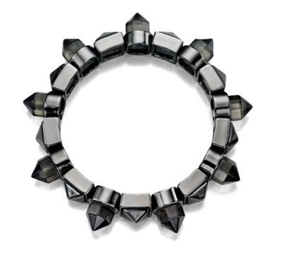 Fiorelli Gunmetal Stud Bracelet