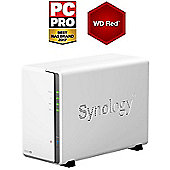 Synology DS216SE/12TB-RED 2-Bay 12TB(2x6TB WD Red) Desktop Network Attached Storage