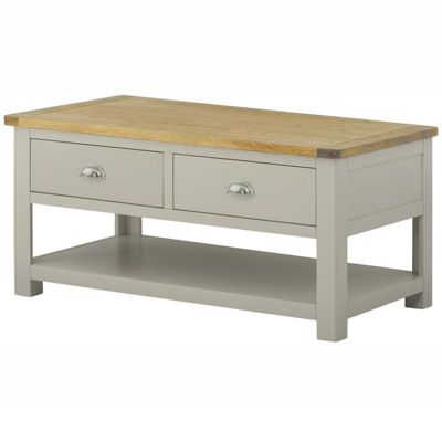 Padstow Painted 2 Drawer Coffee Table