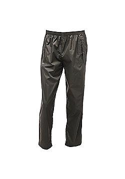 Regatta Mens Pack It Waterproof Overtrousers - Green