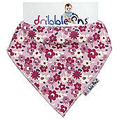 Dribble On Designer Print Bib - Floral Ditsy