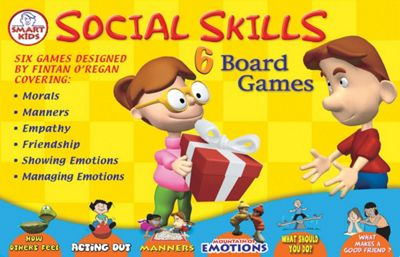 Smart Kids 6 Social Skills Board Games