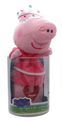 Peppa Pig Gift Set 250ml Bubble Bath + Bath Mitt