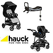 Hauck Rapid 4 Isofix Travel System - Cav/Silver