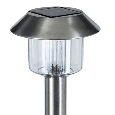 Kingfisher Sl1010 Stainless Steel Solar Light Set X10